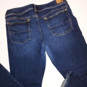 American Eagle Stretch Kick Boot Jeans 14